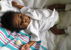 CMS - AA / Ethnic Biracial Reborn Baby Girl -Sold Out Clara kit by Toby Morgan | eBay