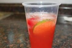 My new fave drink!!! Super simple to make for a party or shower. Cherry Limeade Punch : 2 bottles of sprite, 2 cans of frozen limeade concentrate, 2 jars of maraschino cherries with juice, 2 limes, sliced -- yield: 1 punch bowl @Stephanie StJohn