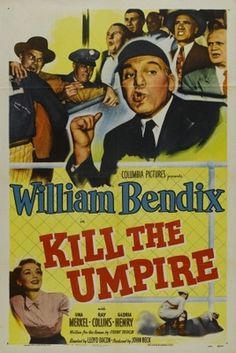 Kill the Umpire movie poster (1950)