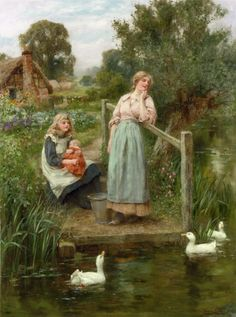King_Henry John_Yeend (1855-1924)_at_the_Duck_pond
