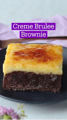 Fun Baking Recipes, Sweet Recipes, Dessert Recipes, Just Desserts, Delicious Desserts, Yummy Food, Brulee Recipe, Cupcakes, Brownie Recipes