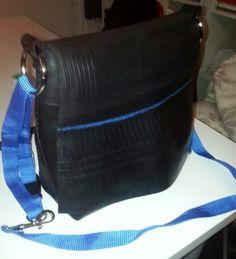Bag made of tractor inner tube