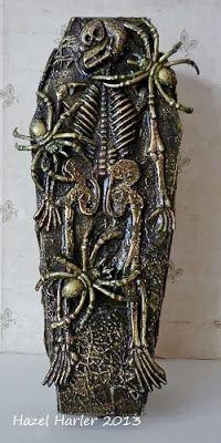 Hazel's Creative Moments: Spooky Coffin