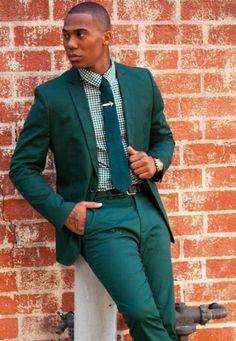 24 Ideas Wedding Suits Men Green Guys For 2019 Sharp Dressed Man, Well Dressed Men, Green Suit Men, Best Wedding Suits, Wedding Wear, Smoking, Pantalon Costume, Blazers, Mens Suits
