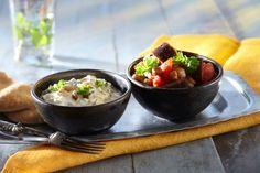 Munakoiso-kikhernepata ja jogurttikastike | Intia | Pirkka¨#food #India