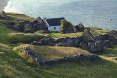 Cottage, Great Blasket Island /   An Blascaod Mór  , Co. Kerry, Ireland via gokerry i.e