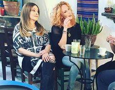 """Η Τζόυς Ευείδη με #matfashion μπλούζα, από το κατάστημα mat. corner Λευκωσίας, στην καθημερινή σειρά """"Μπρούσκο"""" του @ant1tv • #AutumnWinter2015 #collection #mprousko #Μπρουσκο #wears_mat #tv #series #brousko #ant1 #fashionista #ootd #fashion #inspiration #Cyprus #Nicosia Cyprus, Greek, Actors, Celebrities, Blouse, Women, Fashion, Moda, Celebs"""