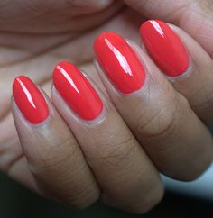 Milani Flaming Race nail polish