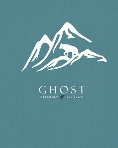 Ghost ~ House Stark ~ Minimalist Poster by Son of Wolves ~ Game of Thrones Fan Art