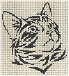 grilles jack russel et chats Plus Cat Cross Stitches, Cross Stitch Charts, Cross Stitch Designs, Cross Stitching, Cross Stitch Patterns, Beaded Cross Stitch, Cross Stitch Embroidery, Embroidery Patterns, Crochet Numbers