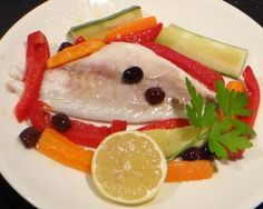 Sea bream with vegetables (Orata al forno)