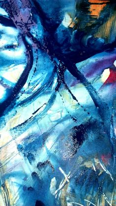 My Blue Abstract painting...