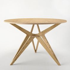 oak plywood table