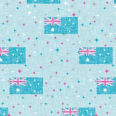 Jubilee Aussie fabric by inscribed_here on Spoonflower - custom fabric
