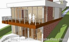 Fachadas de Casas em Terrenos em Declive! Como Construir?