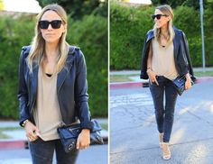 How To Style Your Favorite Leather Jacket | The Zoe Report