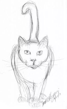 Easy animals to sketch free easy animal sketch drawing ideas inspiration brighter craft learn how to . easy animals to sketch Cat Sketch, Drawing Sketches, Drawing Ideas, Easy Cat Drawing, Pencil Sketches Easy, Simple Sketches, Sketch Free, Animal Sketches Easy, Drawing Tips