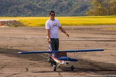 Ilopango Airshow Pilot Decathlon Aerobatic  Model
