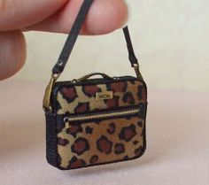 Leopard Print Laptop Bag