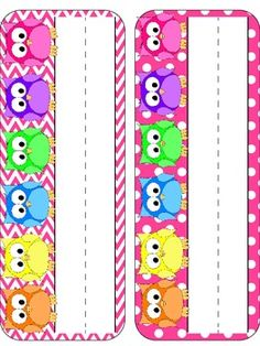 Everything Owls Classroom$ Pack with Chevron & Polka Dots