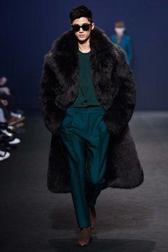 Man in Fur Coat