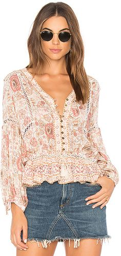 Spell & The Gypsy Collective Zahara Blouse Dream hippie chic blouse