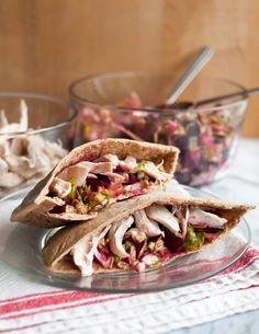Roasted Sweet Potato Wraps with Caramelized Onions and ...