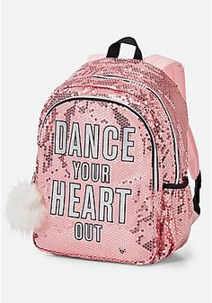 Sequin Dance Backpack