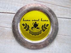Home Sweet Home Sign // Industrial Cottage Decor // by SweetMeas, $22.00