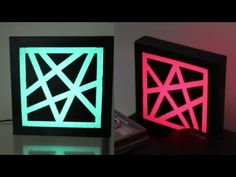 This video I'll show you how to make an L.E.D sticky tape stencil light box. Simple and looks cool! Instagram- http://instagram.com/andy_elliott_/ Gadgets Re...