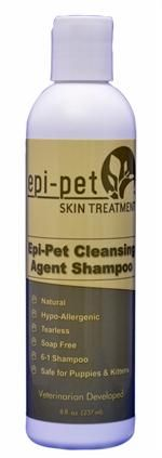 Epi-Pet 8oz Cleansing Agent Shampoo - selectively removes dead skin, dirt, debris and excessive oils  (Your Price: $9.99)