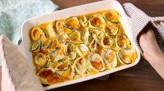 Zucchini Lasagna Roll-Ups  - Delish.com