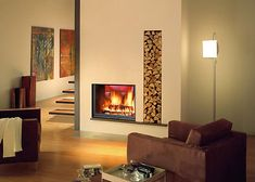 The Stella II is a double sided inset stove from Fondis. This is a relatively large double sided stove at more than 800mm wide. Both doors o...