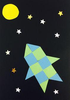 Het tweede woordje dat de kinderen in groep 3 leren is 'maan'. Daar hoort natuurlijk ook weer een knutsel bij.Hier leg ik jullie uit hoe ik deze knutselop