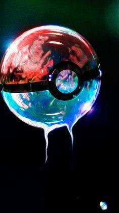 Pokemon Go Pokebox Multicolor Black HD IPhone Wallpaper