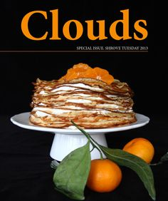 Clouds. Special issue - Shrove Tuesday  Quarterly online Lithuanian food bloggers' magazine