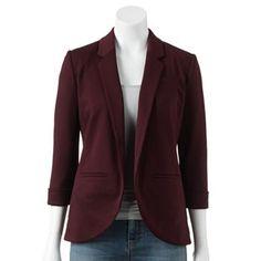 LC Lauren Conrad Ponte Blazer - Women's Love the color of this blazer #PCandKohlsBTS