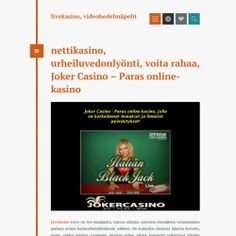 Joker Casino – Paras online-kasino | Visual.ly