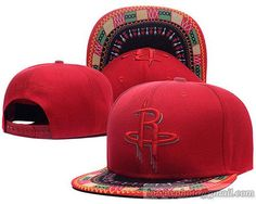 8ab7bc1735d Houston Rockets New Style Snapback Hats Red