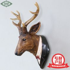 Find More Statues & Sculptures Information about 2016 New Sale Home Decoration Accessories The Deer Antlers Hanging Wall Mural Ornaments European Animal Retro Jewelry Pendant ,High Quality pendant jewelry,China pendant hanging Suppliers, Cheap pendant 2016 from Commodity wholesale 2 on Aliexpress.com
