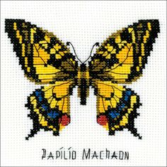 Swallowtail Butterfly Counted Cross Stitch Kit
