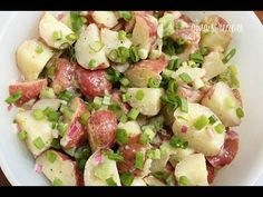 HOW TO MAKE POTATO SALAD samo sa posnimmajonezom