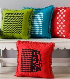 Handmade Charlotte PillowsHandmade Charlotte Pillows