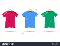 Image result for white t shirt illustration on a hanger