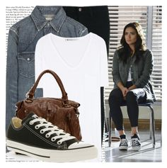 """""""out damned spot - em."""" by cla-90 ❤ liked on Polyvore featuring Episode, J Brand, Polo Ralph Lauren, T By Alexander Wang and Converse"""