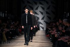 Finale at Viktor & Rolf AW 13-14 Menswear    Image credits: Mathias Wendzinski