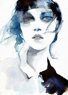 Byung Jun Ko aka Ko Byung Jun aka 고병준 (Korean, b. Seoul, Gajwa-ro 11-gil, Eunpyeong-gu, South Korea) - Stranger series, 2017  Drawings: Pencils, Watercolors