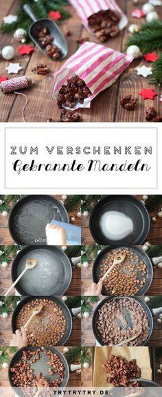 Gebrannte Mandeln wie vom Weihnachtsmarkt {Create yourself a merry little christmas}