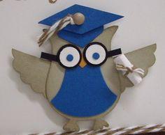 Graduating owl - adorable