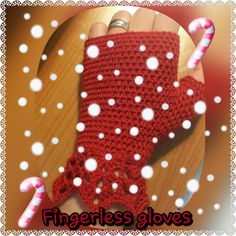 These handmade fingerless gloves are perfect if you, like me, have cold  hands all winter....
